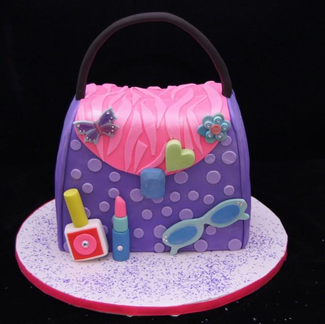 Little Girl Diva Birthday Cakes