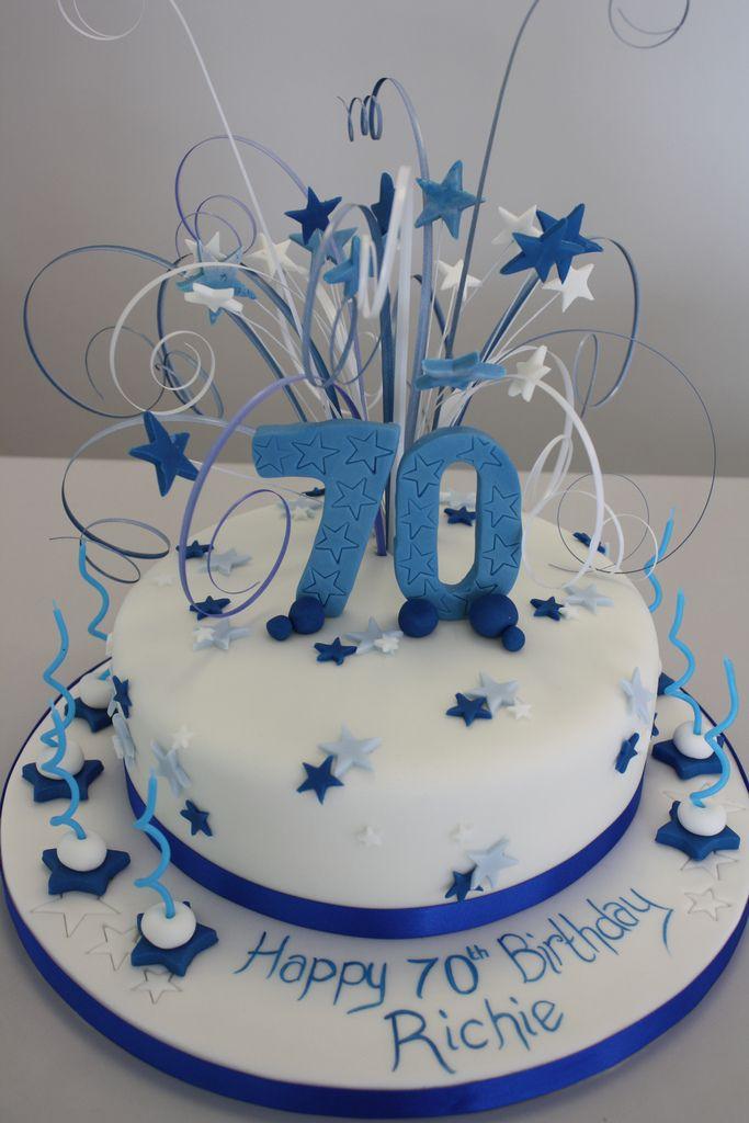 13 70th Birthday Cupcakes For Men Photo Man 70th Birthday Cake