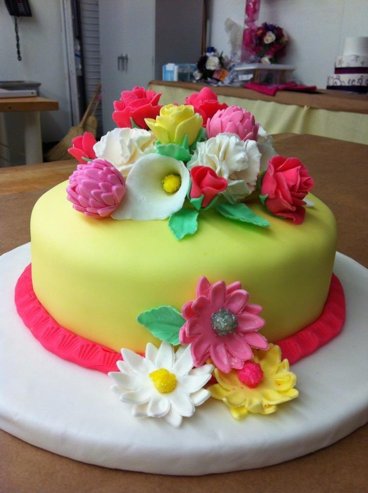 Terrific 10 16Th Birthday Cakes Without Fondant Photo Sweet 16 Birthday Funny Birthday Cards Online Alyptdamsfinfo