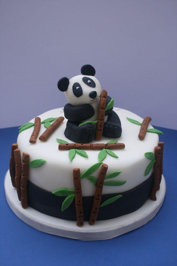 Wondrous 9 Easy Panda Bear Cakes Photo Panda Cake Panda Cake And Panda Funny Birthday Cards Online Inifofree Goldxyz
