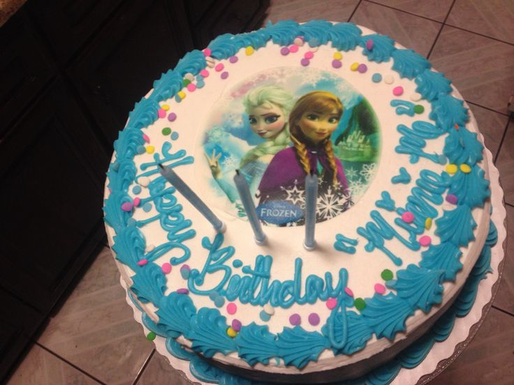 11 Frozen Cakes At Sams Photo Sams Club Frozen Birthday Cakes