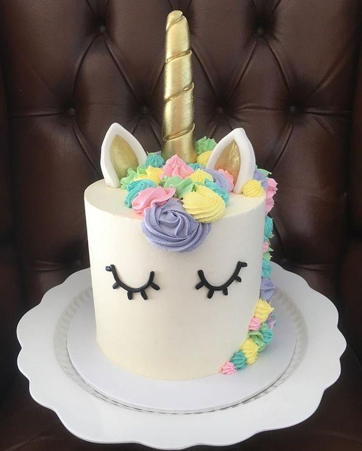 Unicorn Cake Designs For Girls