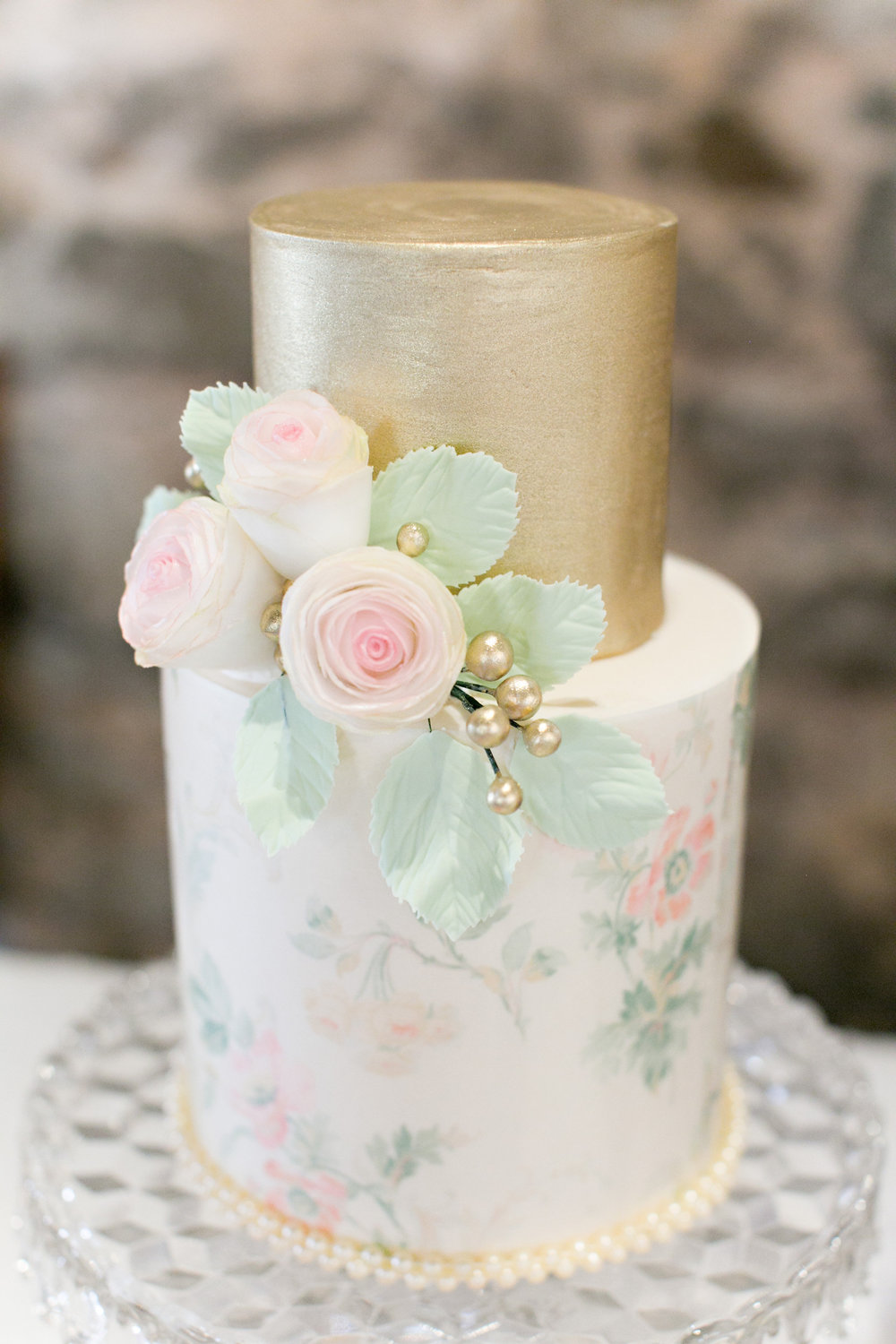 13 Wafer Paper Wedding Cakes Photo Wedding Cake With Wafer Paper