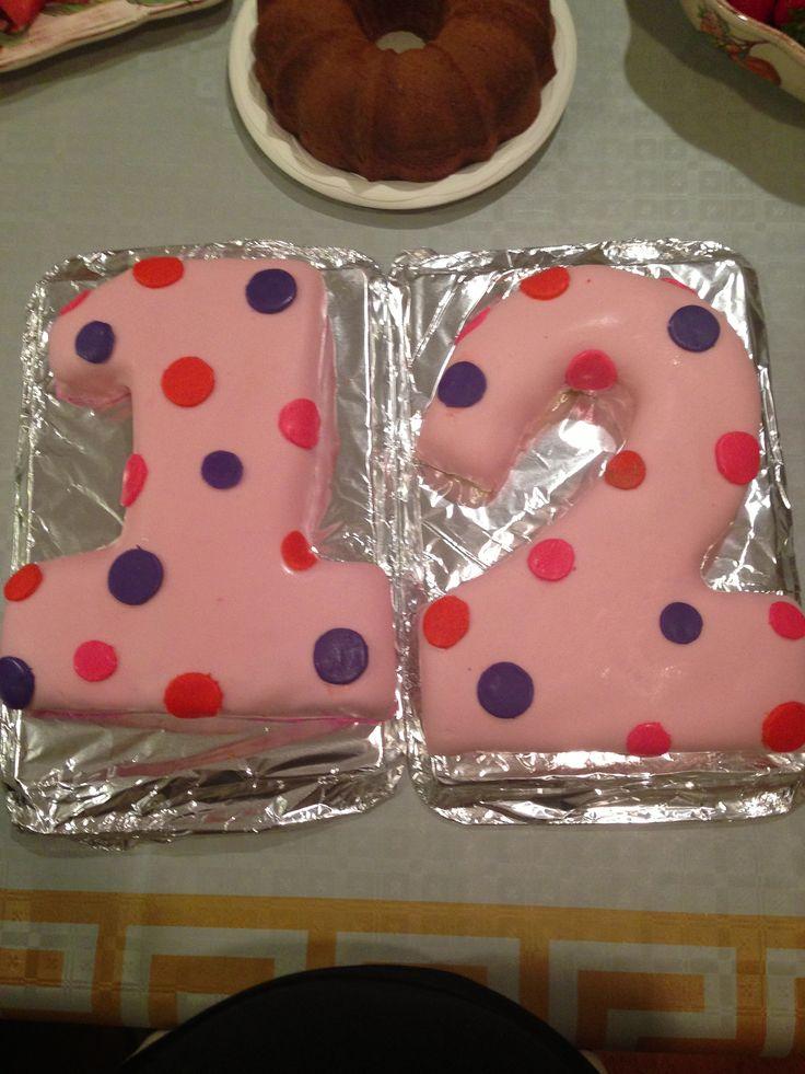 9 Sasha Birthday Cakes For Girls Age 12 Photo - 12 Year Old Cake ...