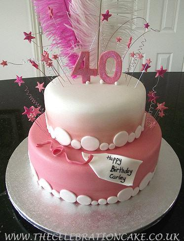 40th Birthday Cake Ideas For Her