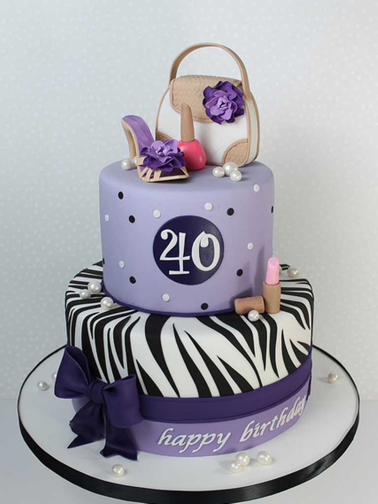 Birthday Cake Ideas For 40 Year Old Female