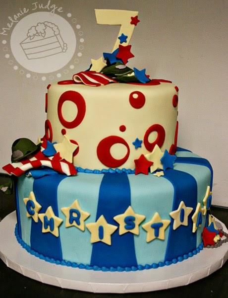 7 Year Old Boy Birthday Cake