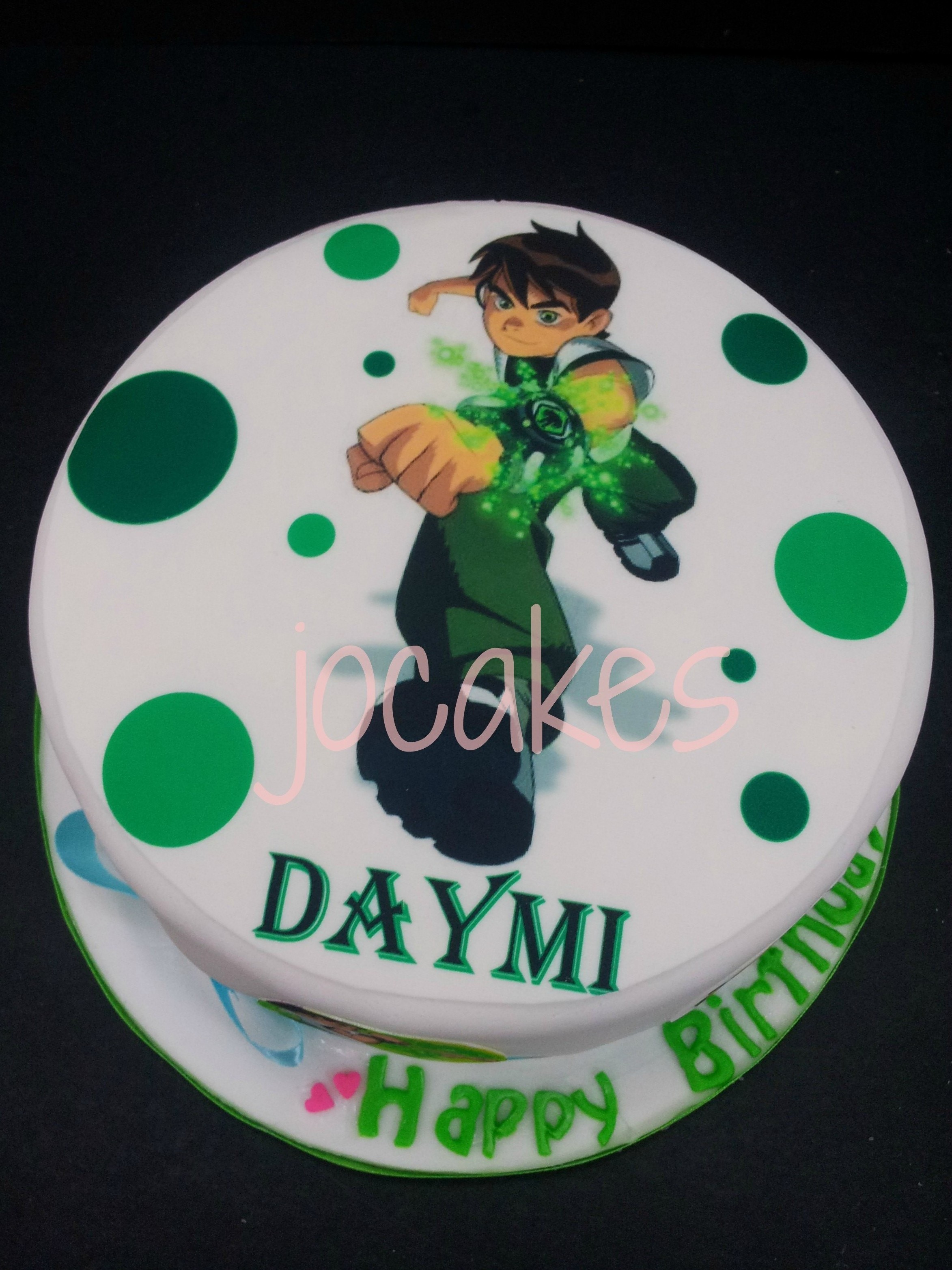 Year Olds 4 Boys Photo Ben 10 Cakes Birthday Cake