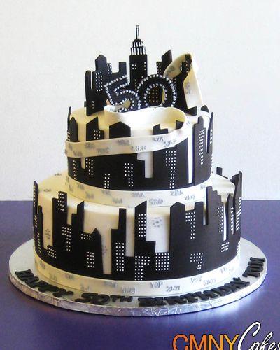 Excellent 12 New York City Theme Cakes Ideas Photo New York City Cake Funny Birthday Cards Online Elaedamsfinfo