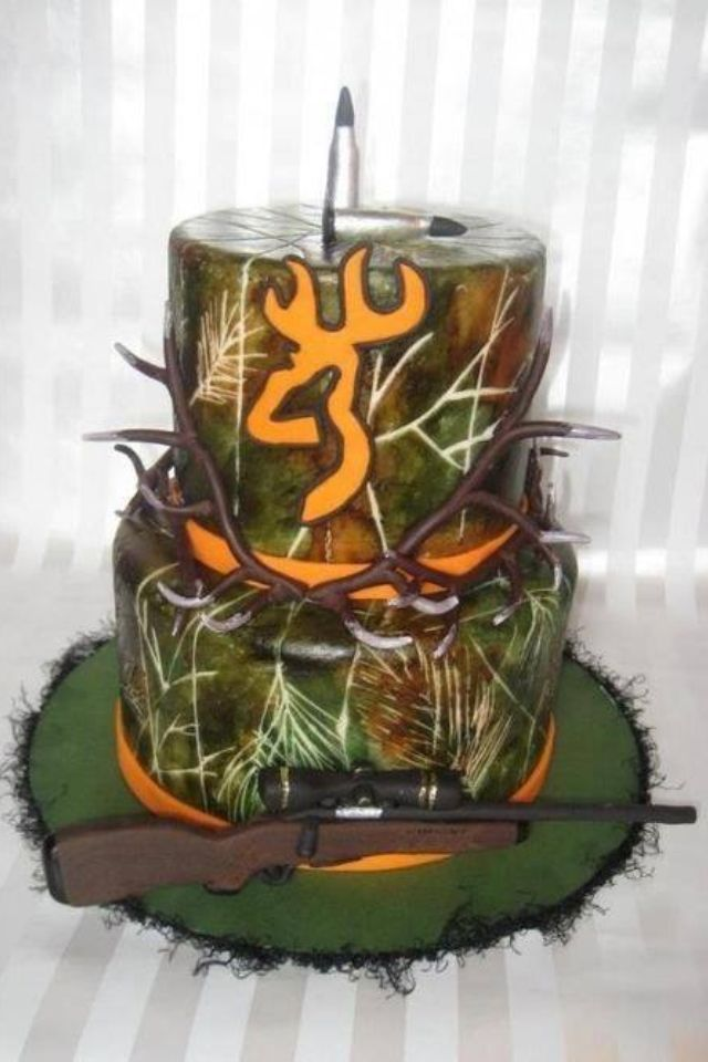 13 Camo Birthday Cakes For Men Photo