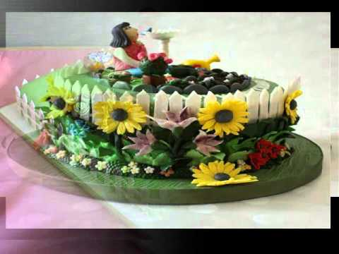 13 Easy Birthday Cakes Garden Photo - Fairy Garden Cake, Vegetable ...