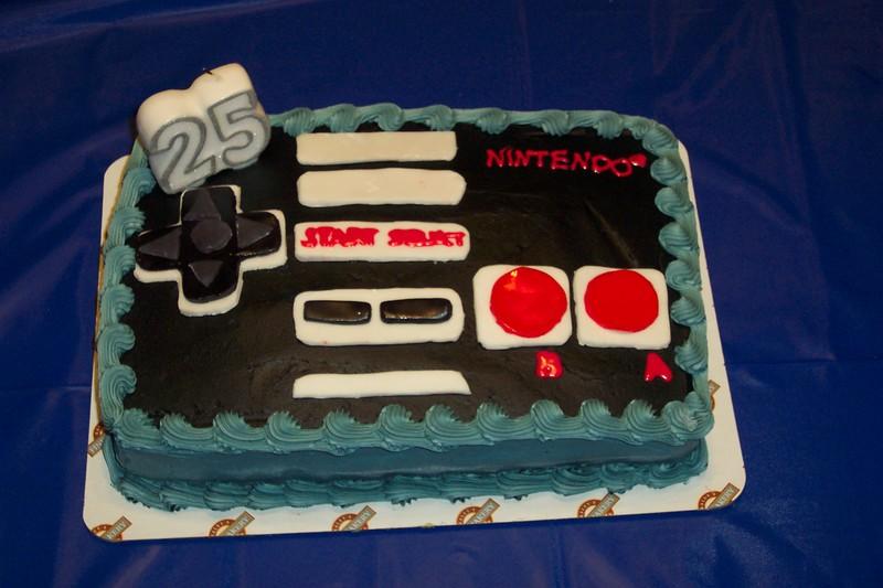 Game Controller Birthday Cake