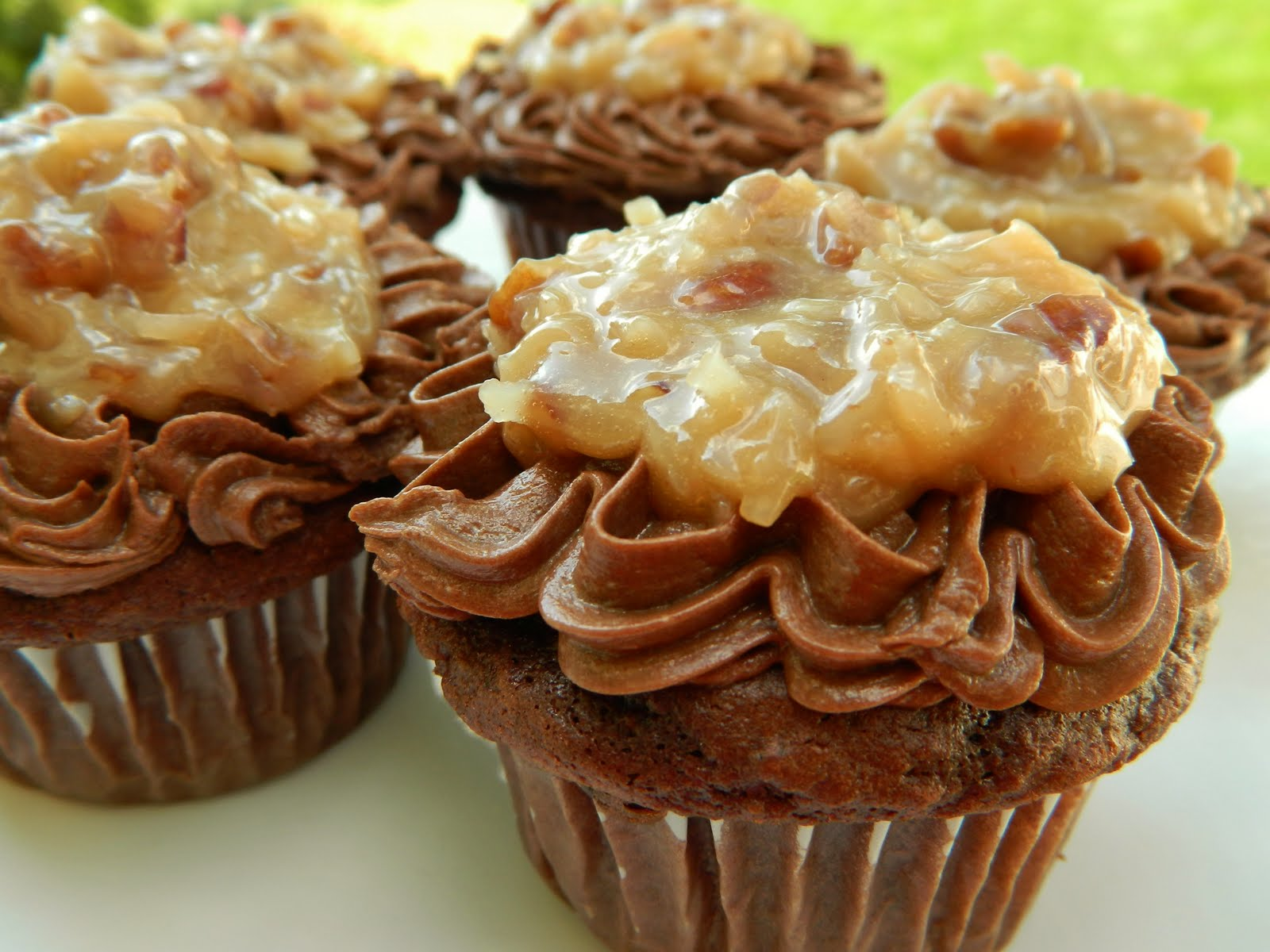 11 German Chocolate Cupcakes From Mix Photo German Chocolate