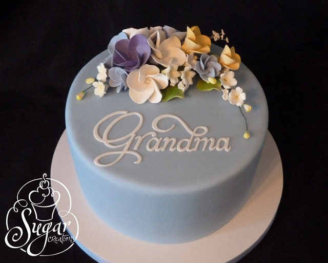 12 Cakes Birthday Cake For Grandmothers Rose Photo Grandma