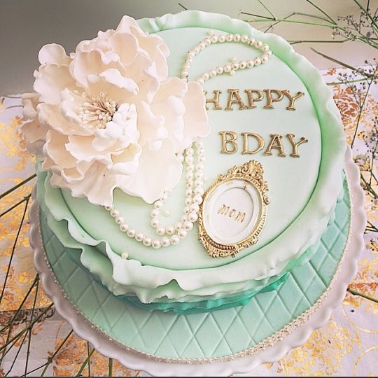 Mom 60th Birthday Cake Ideas