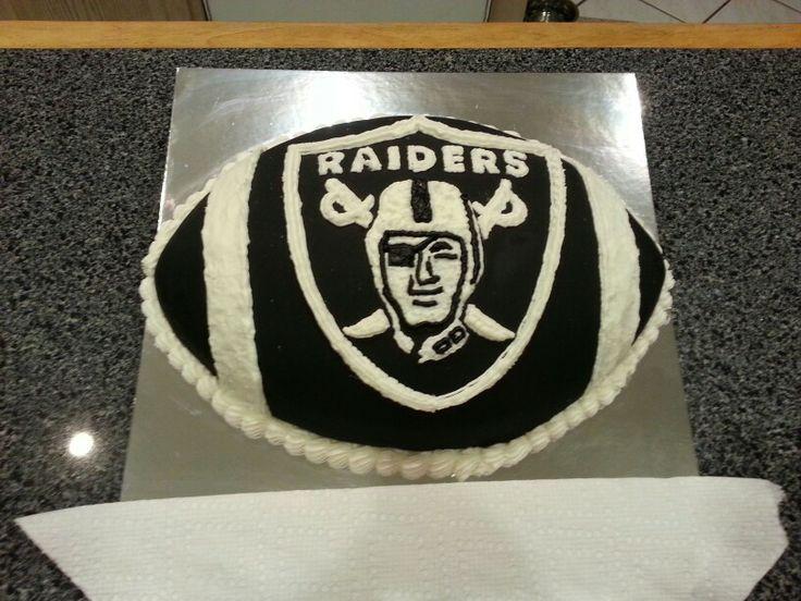 6 Raiders Sheet Cakes Photo Oakland Raiders Cake Raiders Baby