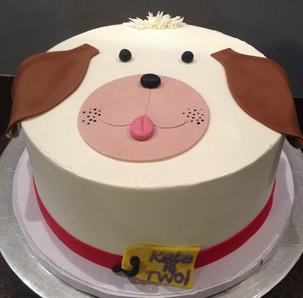 8 Puppy Dog Birthday Cakes For Girls Photo Puppy Dog Birthday Cake
