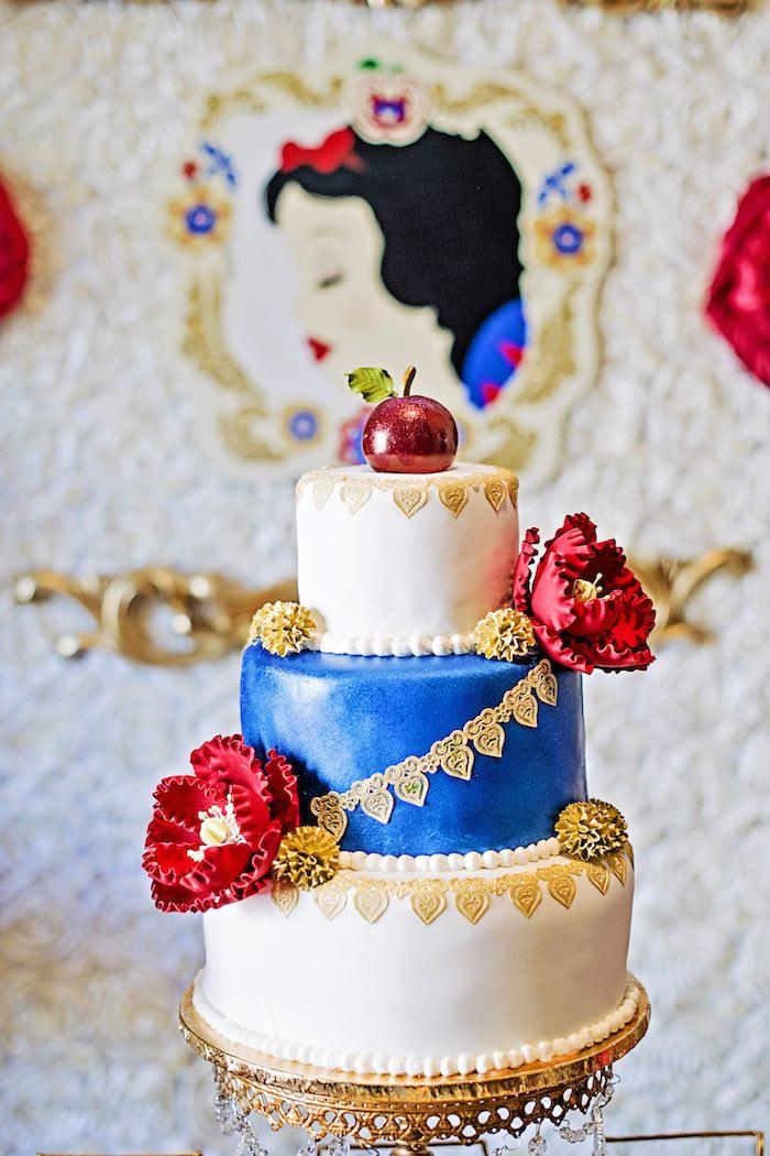 Enjoyable 8 Apple Snow White Birthday Cakes Photo Snow White Birthday Cake Funny Birthday Cards Online Alyptdamsfinfo