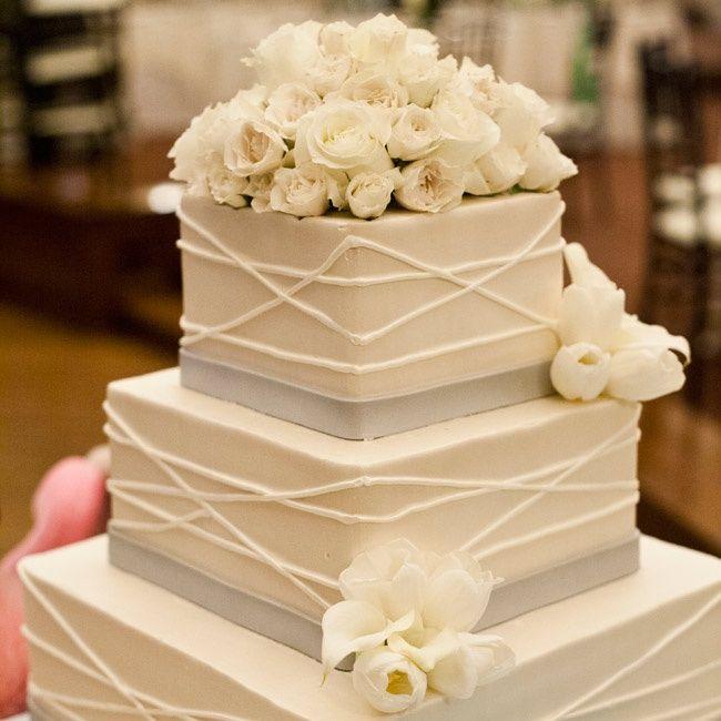 11 Layered Square Shaped Weeding Cakes Photo - Square Wedding Cake ...