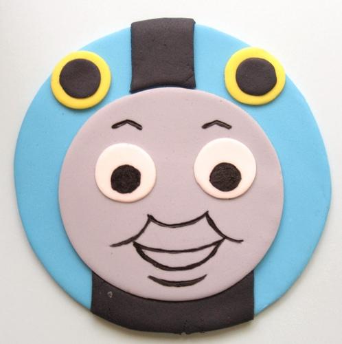 Thomas Train Face Printable