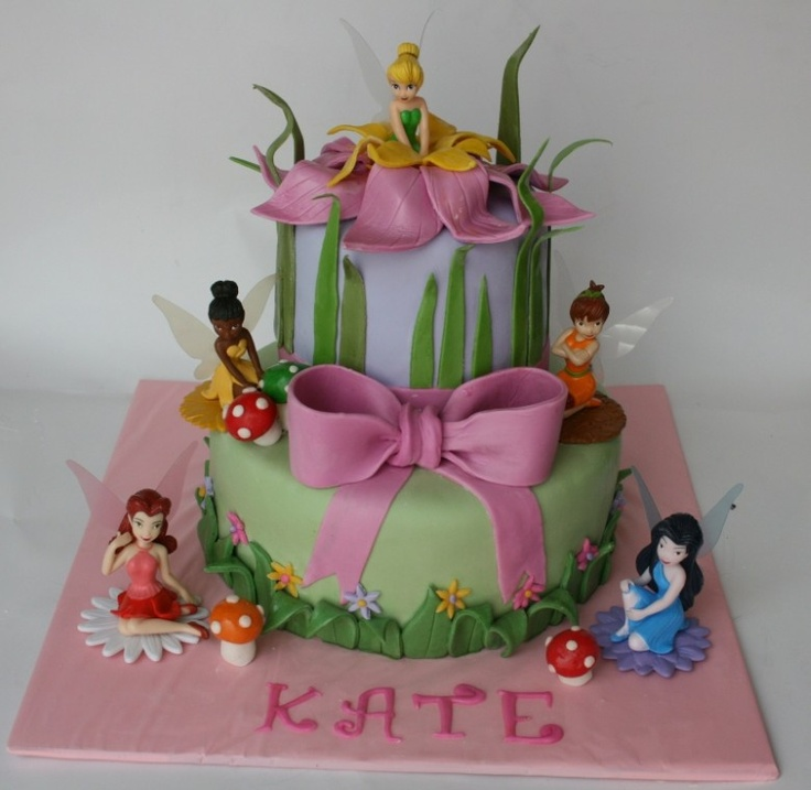 12 Best Birthday Cakes Tinkerbell Photo Tinkerbell Birthday Cake