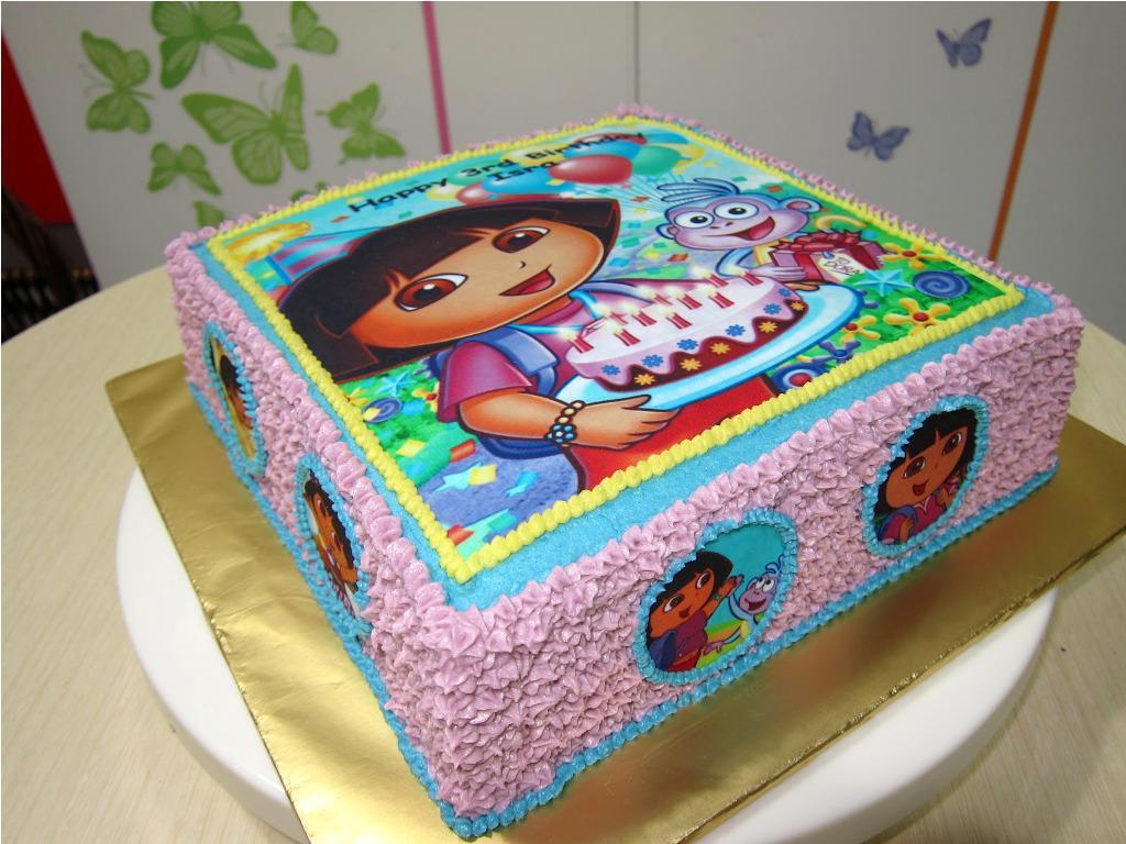 Enjoyable 8 Dora Birthday Cakes From Grocery Store Photo Dora Explorer Personalised Birthday Cards Xaembasilily Jamesorg