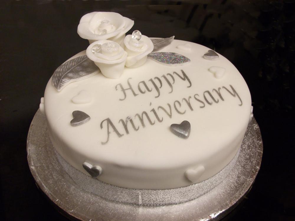 7 Happy 25th Wedding Anniversary Cakes Photo 25th Wedding
