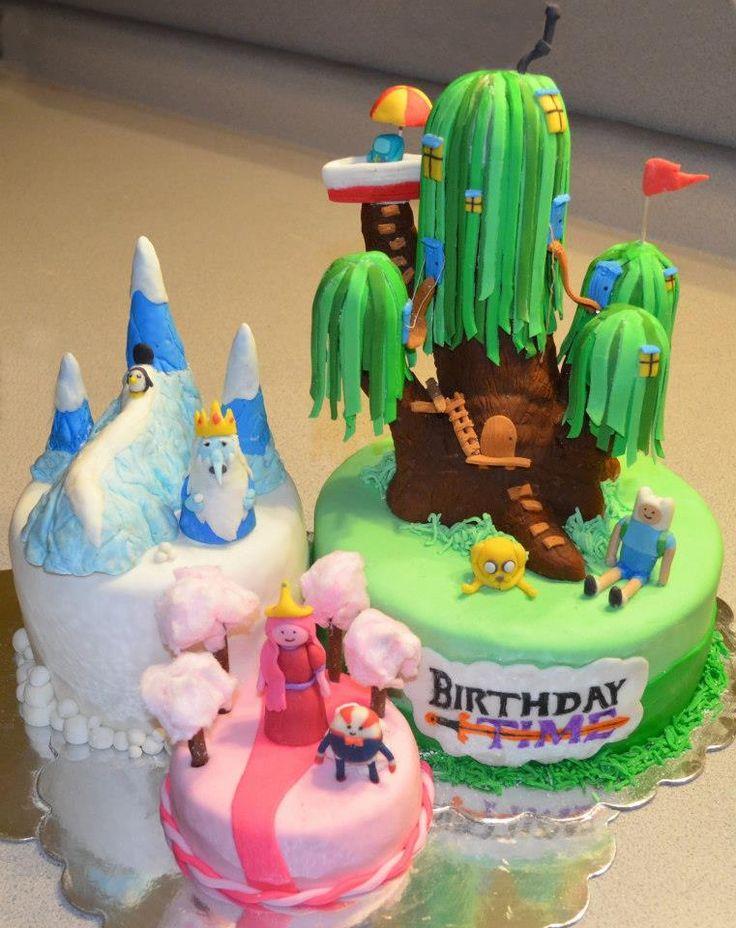 11 awesome adventure time cakes photo adventure time birthday cake