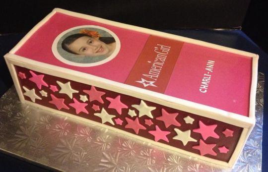 Super 11 Box American Girl Birthday Cakes Photo American Girl Doll Personalised Birthday Cards Paralily Jamesorg