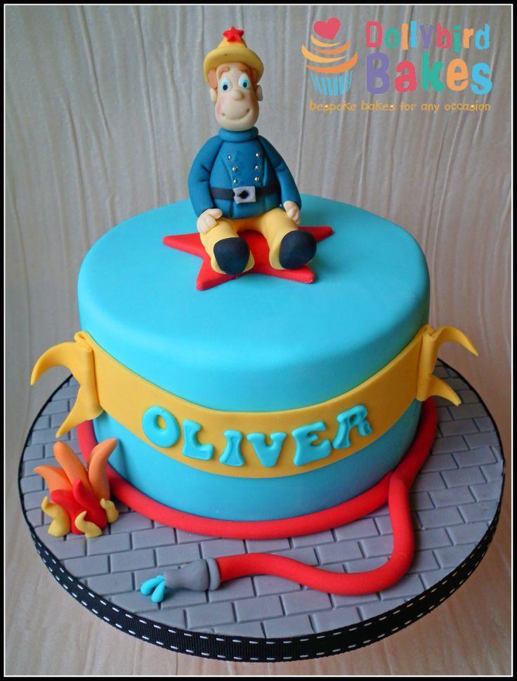 7 Sams Birthday Cakes For Boys Photo Fireman Sam Birthday Cake