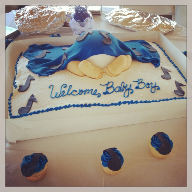 8 Baby Shower Cakes At Giant Eagle Photo Girl Baby Shower Cakes