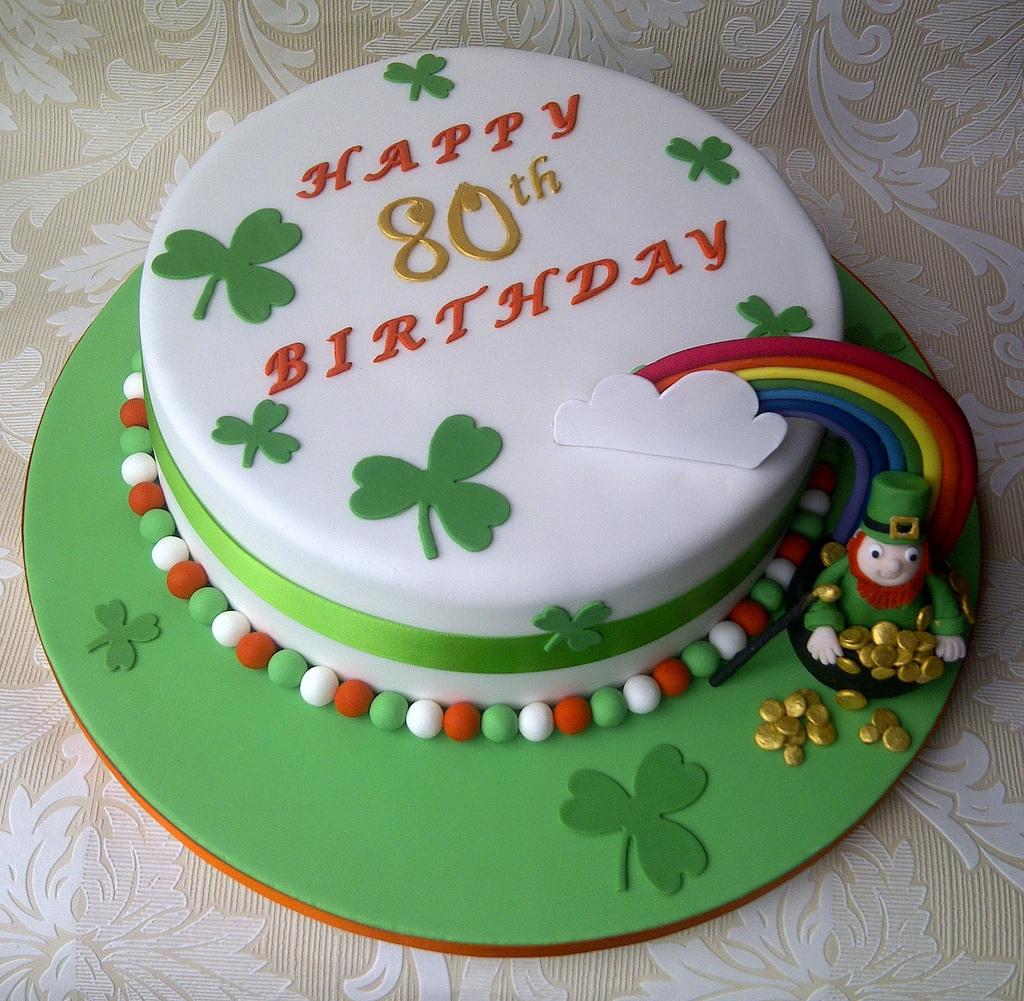 Wondrous 12 Irish And Native American Themed Cakes Photo Irish Themed Personalised Birthday Cards Veneteletsinfo