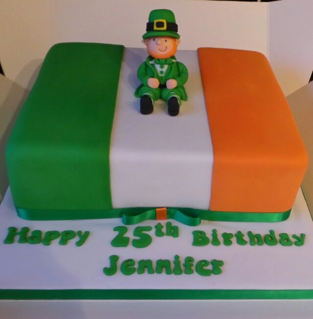 Marvelous 12 Irish And Native American Themed Cakes Photo Irish Themed Birthday Cards Printable Riciscafe Filternl