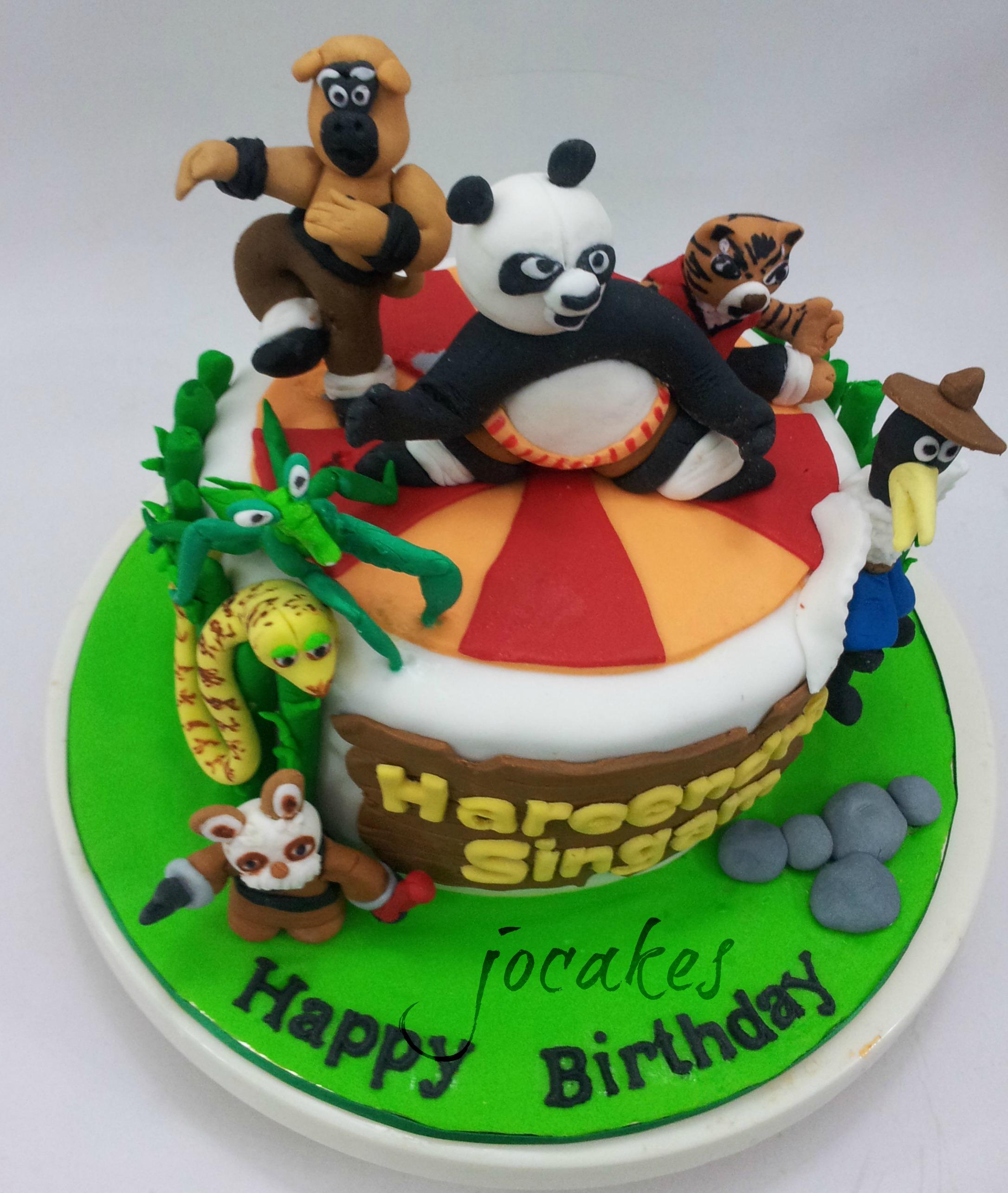 Stupendous 11 Kung Fu Panda Birthday Cakes Photo Kung Fu Panda Birthday Funny Birthday Cards Online Alyptdamsfinfo