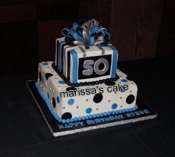 10 50th Birthday Cakes For Him Photo 50th Birthday Cake Ideas Man