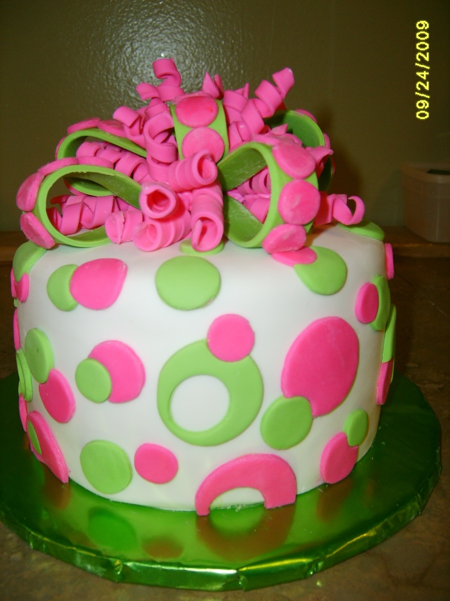 Phenomenal 12 Pink And Green Martini Cakes Photo Alpha Kappa Alpha Neon Funny Birthday Cards Online Alyptdamsfinfo