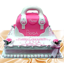 Prada Birthday Cake