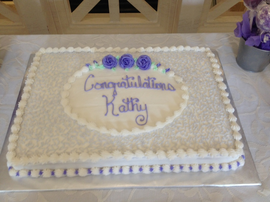 9 Kroger Retirement Cakes Designs Photo Office