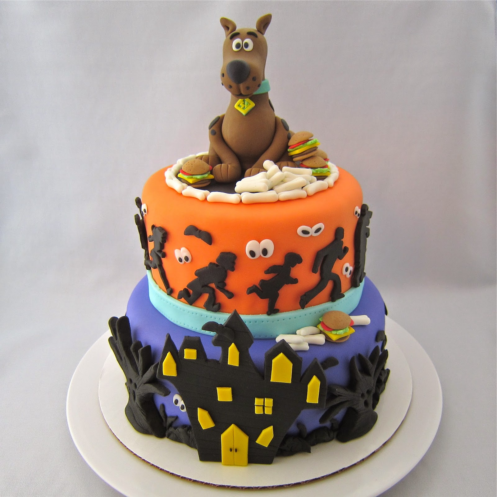 Stupendous 10 Scoody Doo Cakes Photo Scooby Doo Cake Scooby Doo Birthday Funny Birthday Cards Online Alyptdamsfinfo
