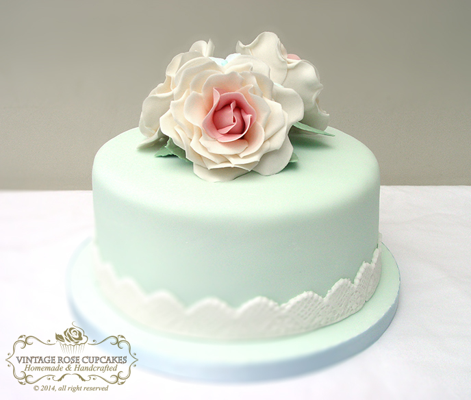 10 Vintage Elegant Birthday Cakes For Women Photo Elegant Woman