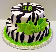 9 A Cool Birthday Cakes For 13 Photo