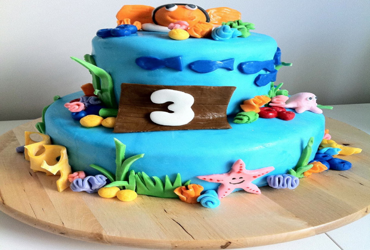 3 Year Old Boy Birthday Cake Ideas