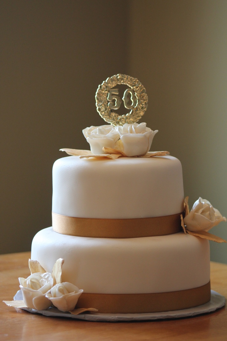 11 Wedding Cakes Elegant Anniversary Photo - 50th Wedding ...