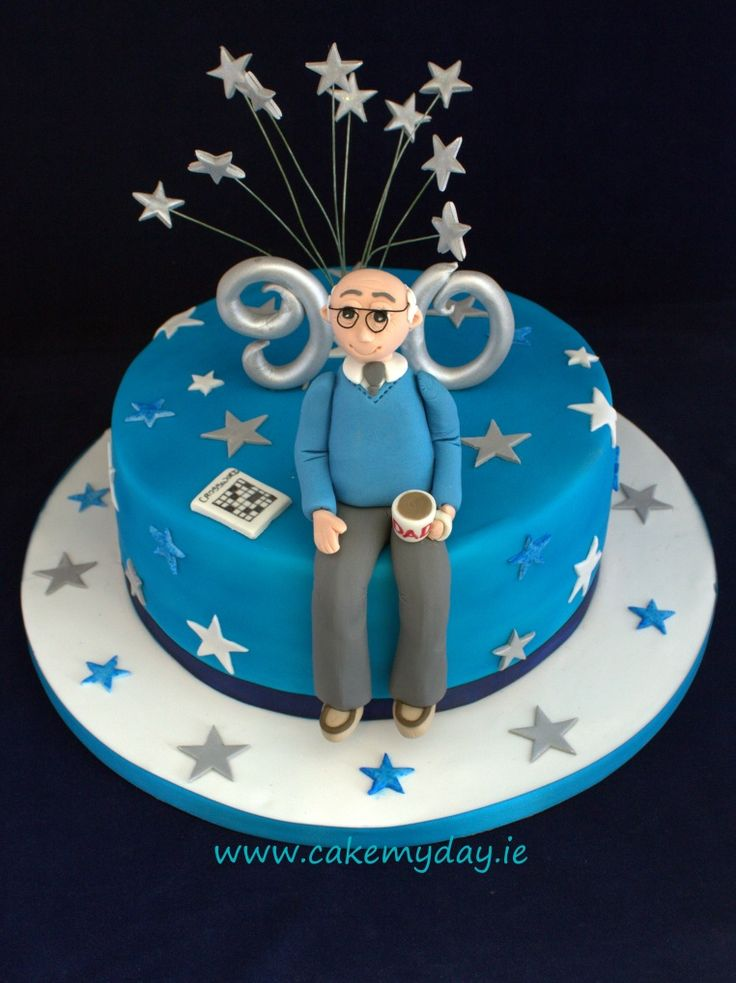 90th Birthday Cake Ideas For Men