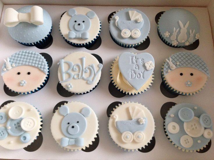 Boy Baby Shower Cupcakes Image Cabinets And Shower Mandra Taverncom