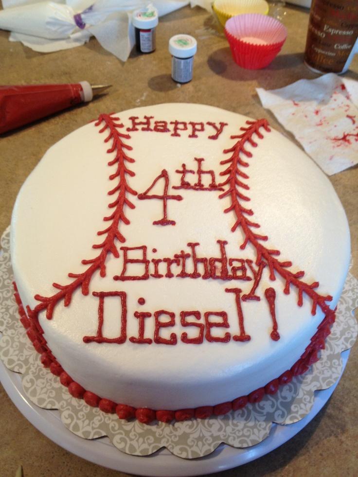 Excellent 12 Baseball Cakes Pinterest Photo Baseball Birthday Cake Ideas Birthday Cards Printable Inklcafe Filternl