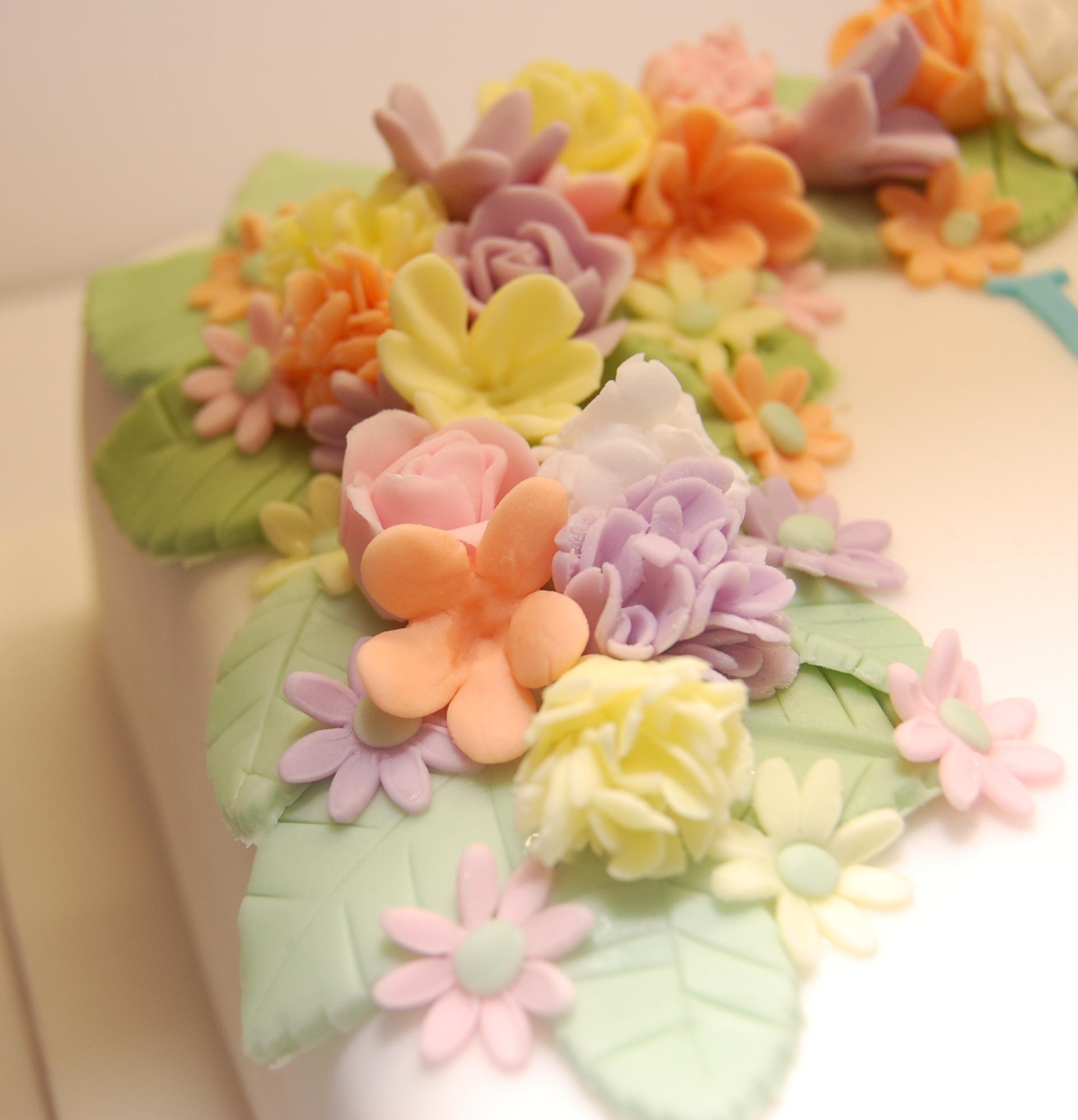 Swell 11 Birthday Cakes Look Like Flowers Photo Birthday Cake With Funny Birthday Cards Online Hetedamsfinfo
