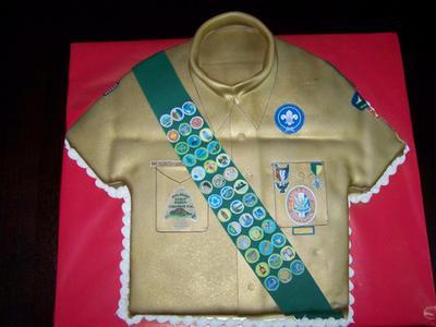 Boy Scout Birthday Cake Ideas