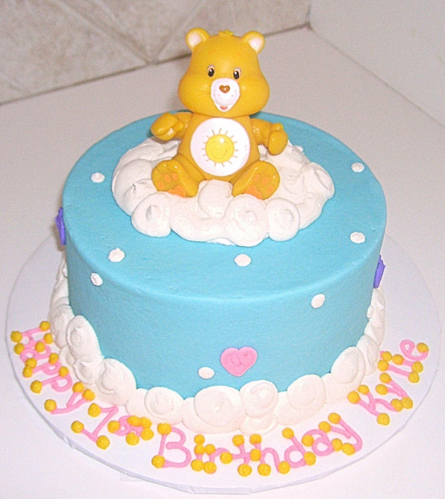 Astonishing 10 Care Bears Cakes Photo Gallery Photo Care Bear Cake Care Funny Birthday Cards Online Alyptdamsfinfo