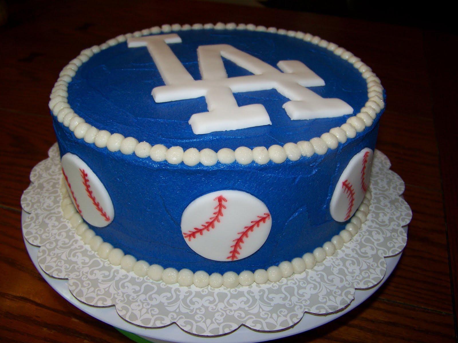 Brilliant 13 La Dagers Cakes Photo Dodgers Birthday Cake La Dodgers Funny Birthday Cards Online Benoljebrpdamsfinfo